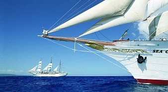 fünf master segelschiff