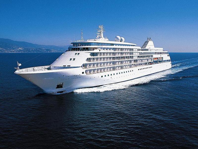 Silver Shadow-Kreuzfahrten: Exklusive Schiffsreisen buchen