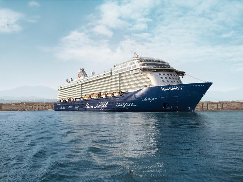 Mein Schiff 3-Kreuzfahrten: Exklusive Schiffsreisen buchen