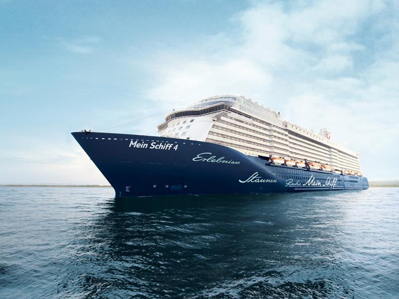 Mein Schiff 4-Kreuzfahrten: Exklusive Schiffsreisen buchen